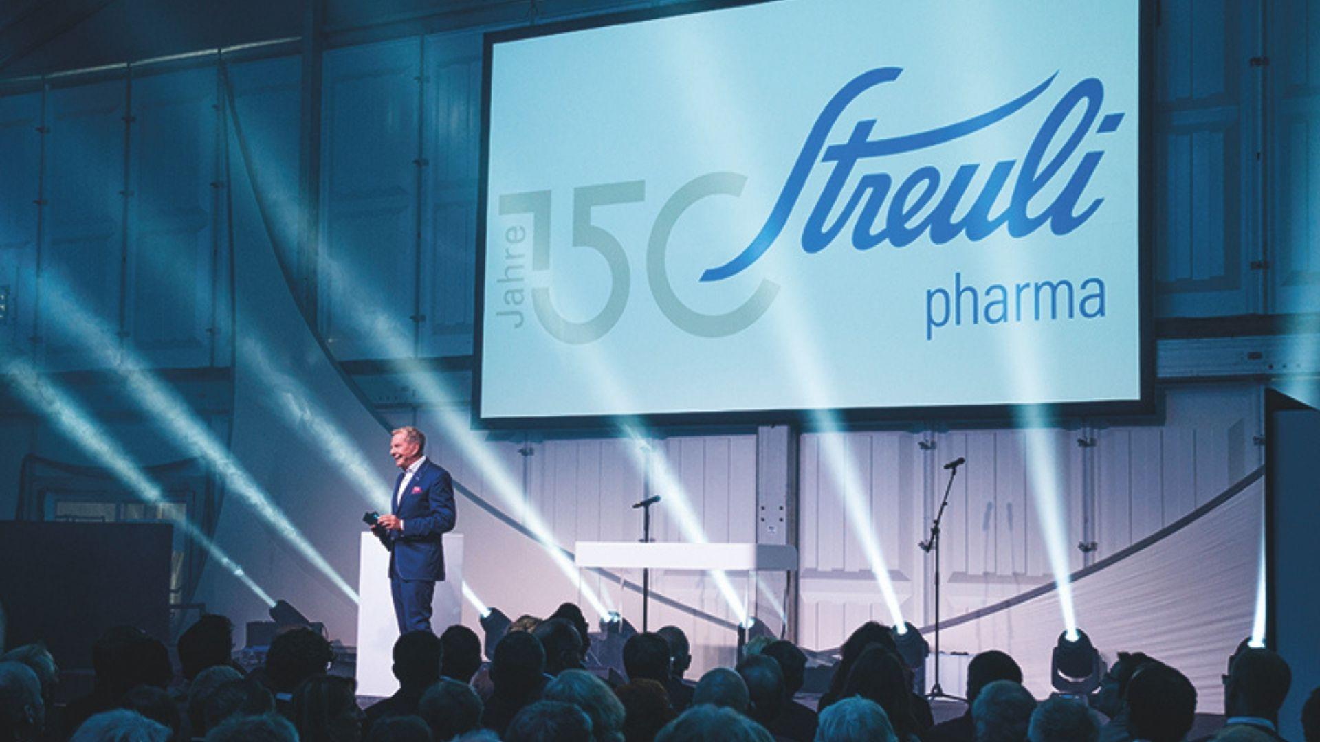 Streuli Pharma 150 Years Anniversary
