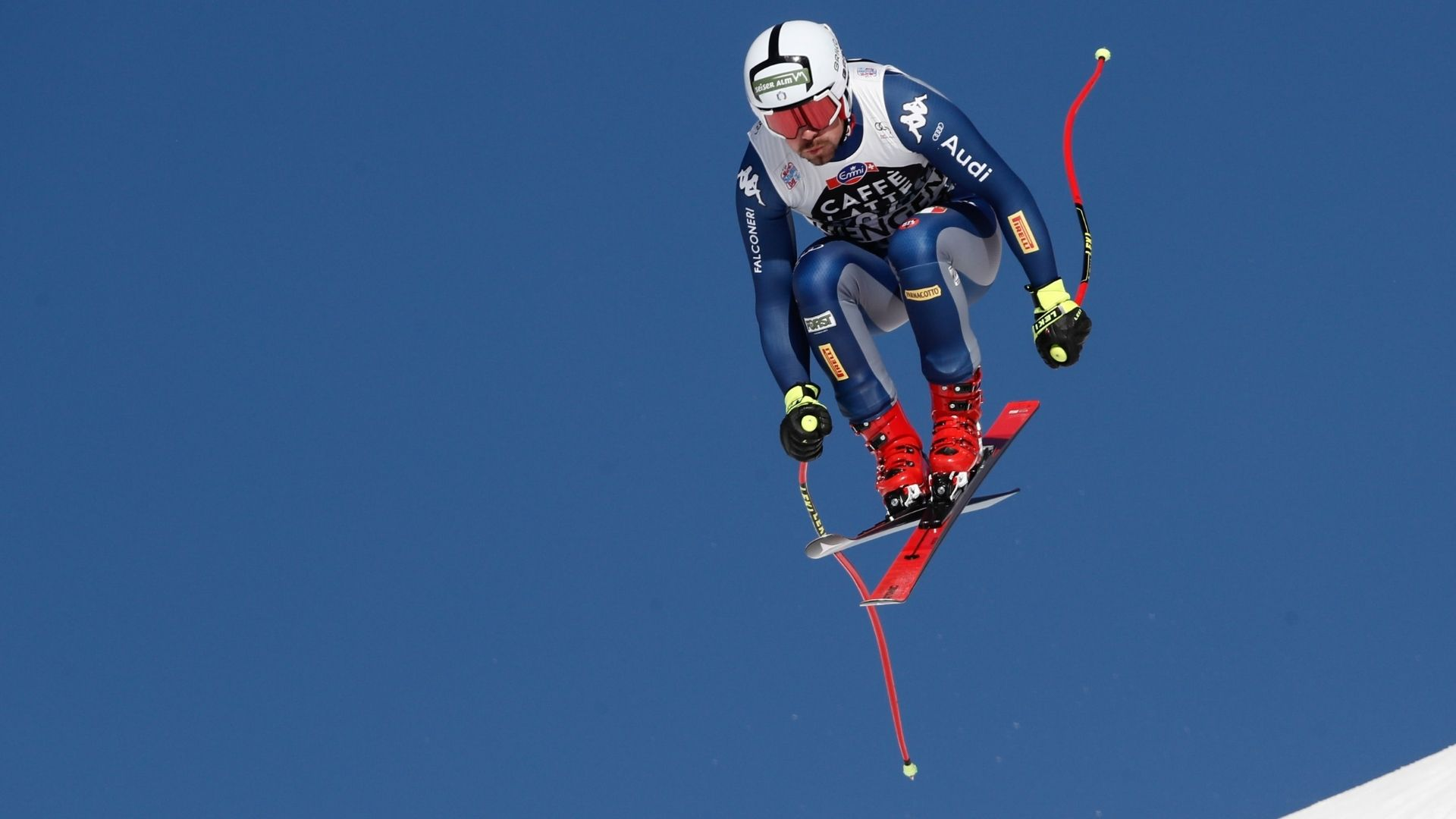 Peter Fill Alpine Skiing Jump