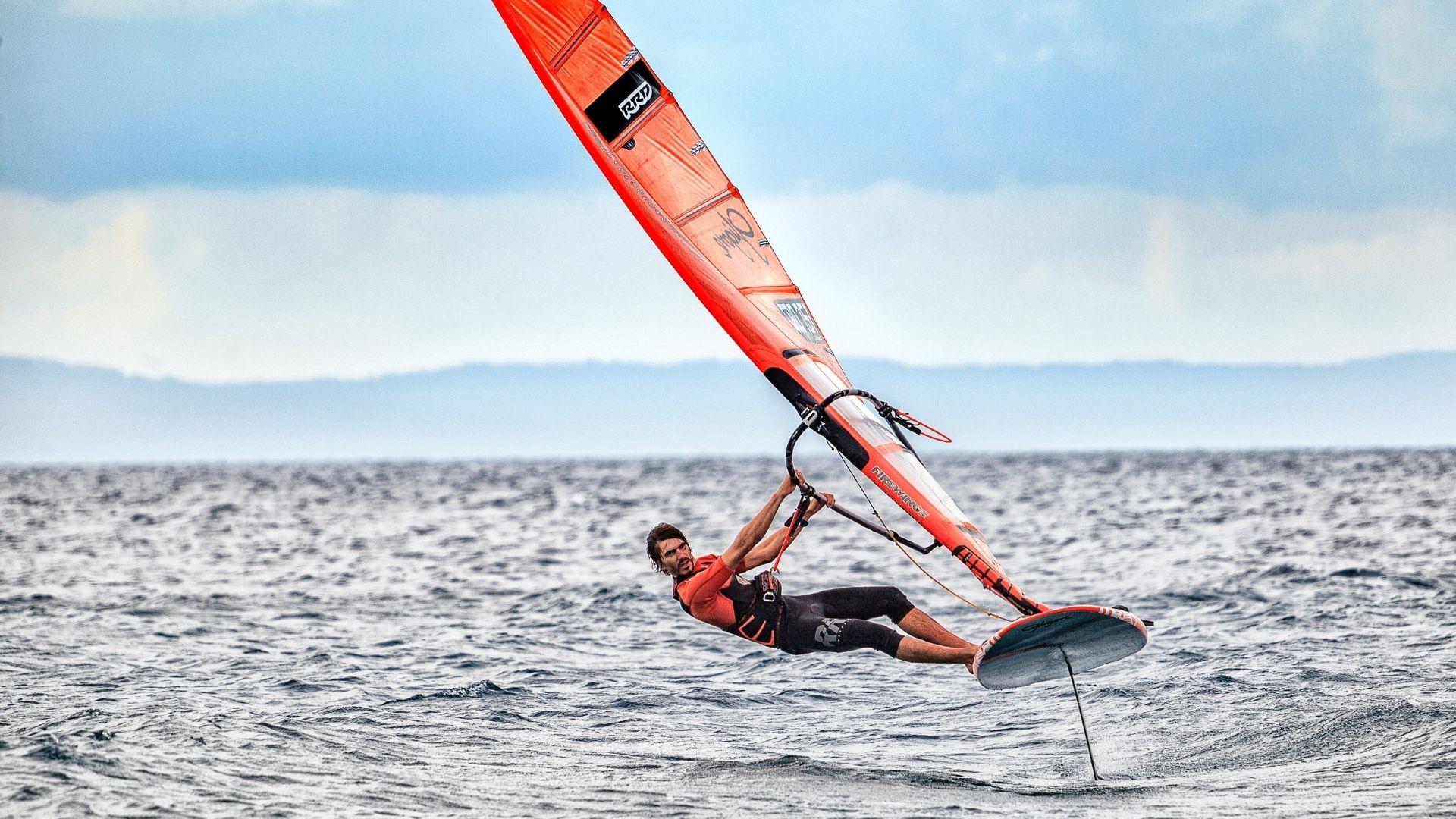 Windsurf foiling