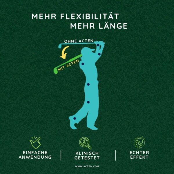 Mehr Flexibilitaet und mehr Laenge mit Acten